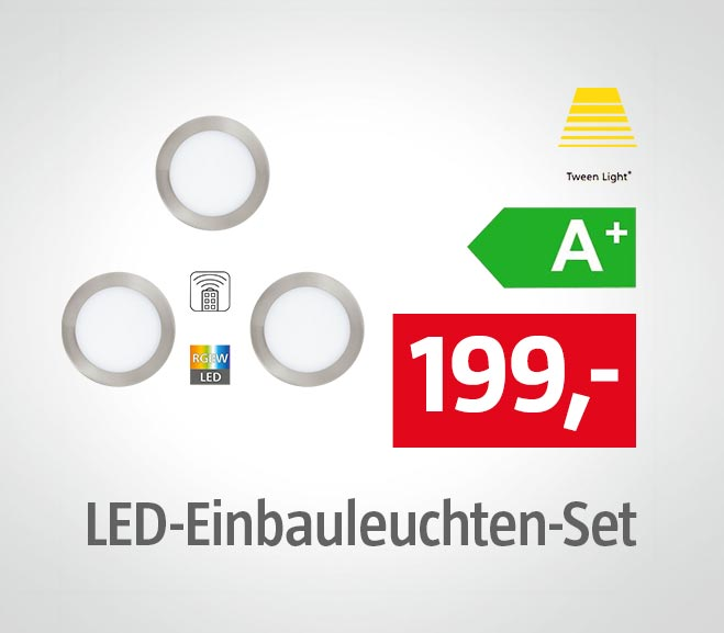 Tween Light LED-Einbauleuchten-Set