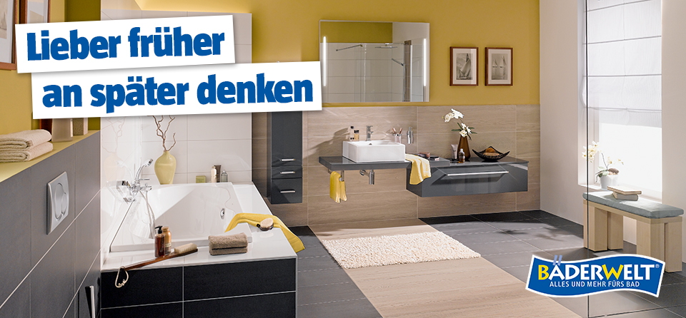 barrierefreies badezimmer planen und einrichten bauhaus. Black Bedroom Furniture Sets. Home Design Ideas