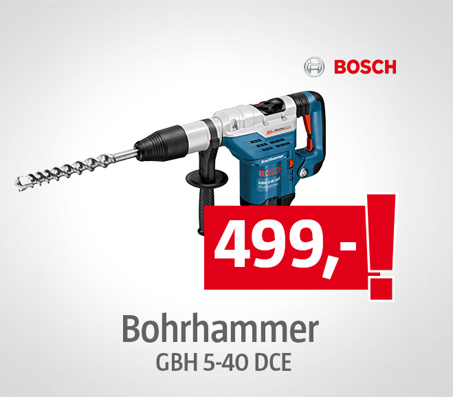 Bosch Professional Bohrhammer GBH 5-40 DCE