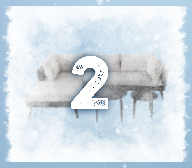 Adventskalender BAUHAUS 2.12. frosted
