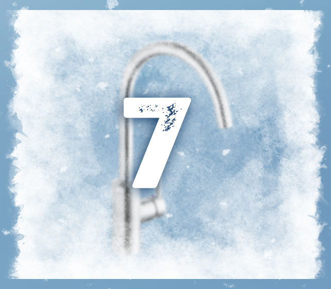 BAUHAUS Adventskalender 7.12. frosted