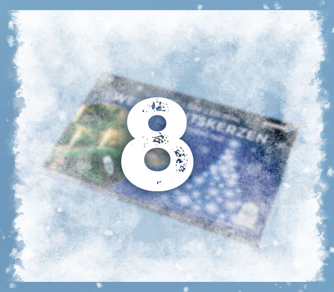 BAUHAUS Adventskalender 8.12. frosted