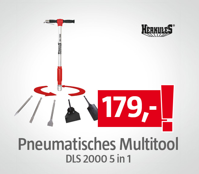 Pneumatisches Multitool DLS 2000 5 in 1 25447530