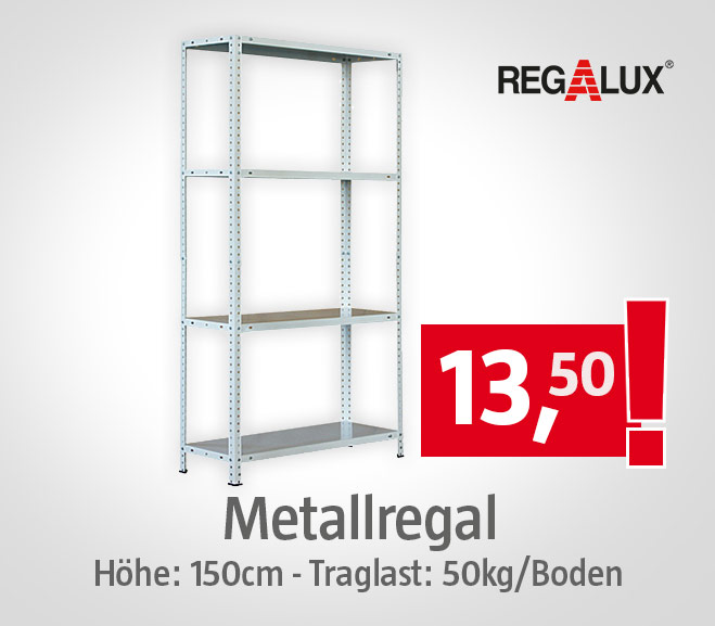 Reaglux Metallregal