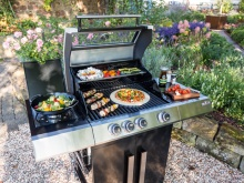 Richtig Grillen: Kingstone Gasgrill CLIFF 350