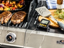 Richtig Grillen: Kingstone Grill-Thermometer