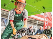 Ladies Only Festival 2019: Workout Extrem Motorsägenschein