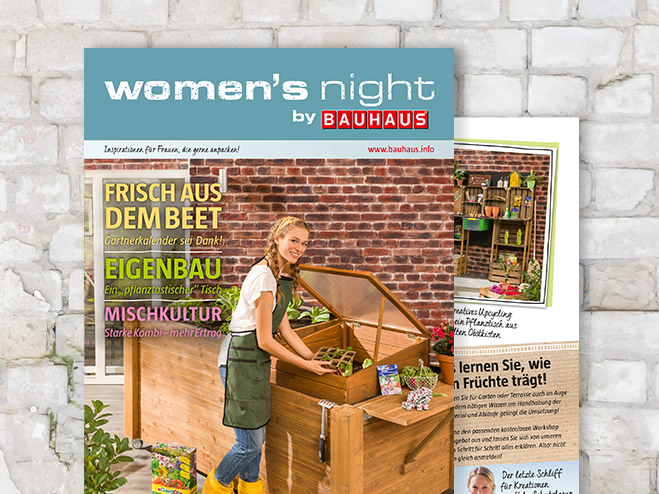 Booklet Womens Night Frühjahr 2019