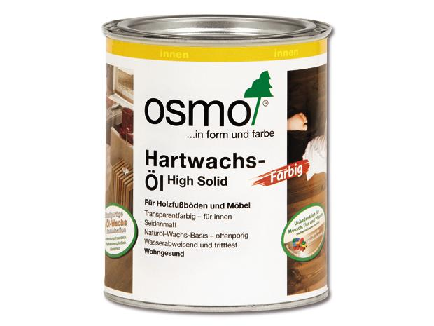 osmo high solid hartwachs l farbig 3072 bernstein 750 ml seidenmatt. Black Bedroom Furniture Sets. Home Design Ideas