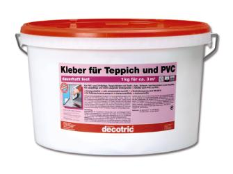 decotric kleber f r teppich und pvc 10 kg gebrauchsfertig innen. Black Bedroom Furniture Sets. Home Design Ideas