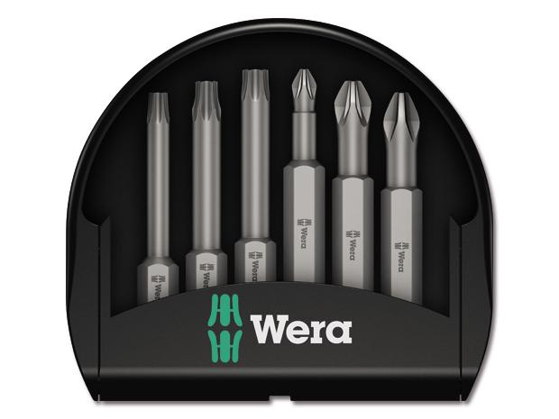 wera bit set mini check 6 tlg. Black Bedroom Furniture Sets. Home Design Ideas
