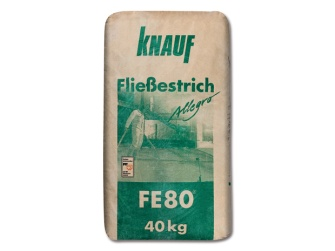 knauf flie estrich fe 80 allegro 40 kg. Black Bedroom Furniture Sets. Home Design Ideas