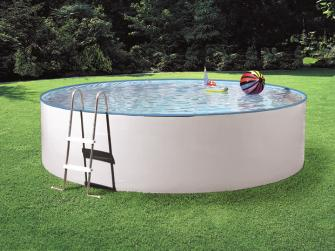 Mypool pool komplettset splash wei durchmesser 3 6 m for Garten pool komplettset