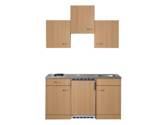 respekta k chenblock 150 bb 150 x 200 cm energieeffizienzklasse k hlschrank a buche. Black Bedroom Furniture Sets. Home Design Ideas