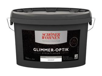 sch ner wohnen trendstruktur glimmer optik effektlasur granat 1 l. Black Bedroom Furniture Sets. Home Design Ideas