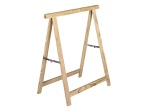 holzklappbock standard tragkraft 400 kg bei 2 holzb cken. Black Bedroom Furniture Sets. Home Design Ideas