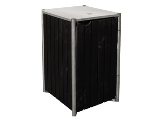 hide wood m lltonnenbox verkleidung cover passend f r hide m lltonnenbox gestell 240 l holz. Black Bedroom Furniture Sets. Home Design Ideas