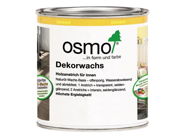 osmo dekorwachs wei 375 ml seidengl nzend natur l wachs basis. Black Bedroom Furniture Sets. Home Design Ideas