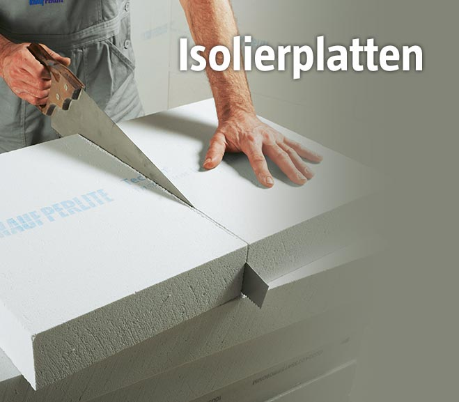 Isolierplatten