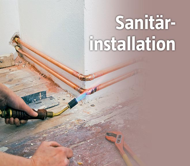 Sanitaerinstallationen