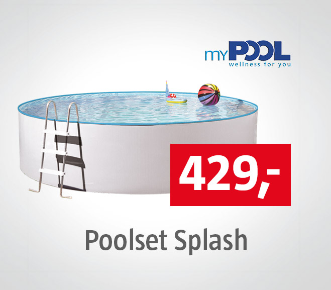 myPool Poolset Splash