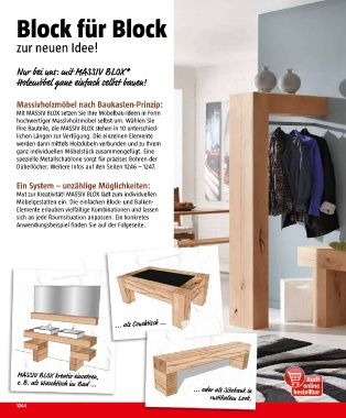massiv blox waschtisch interior design und m bel ideen. Black Bedroom Furniture Sets. Home Design Ideas