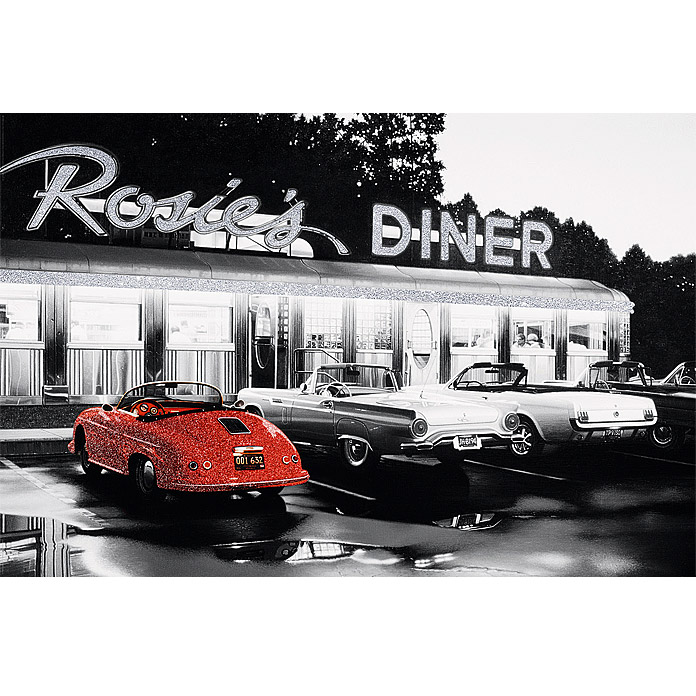 Decopanel Glam Rock (Rosies's Diner, 90 x 60 cm)