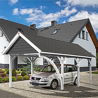 carport doppelcarport bauhaus. Black Bedroom Furniture Sets. Home Design Ideas