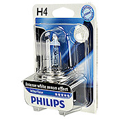 WHITE     VISION H4 PHILIPS