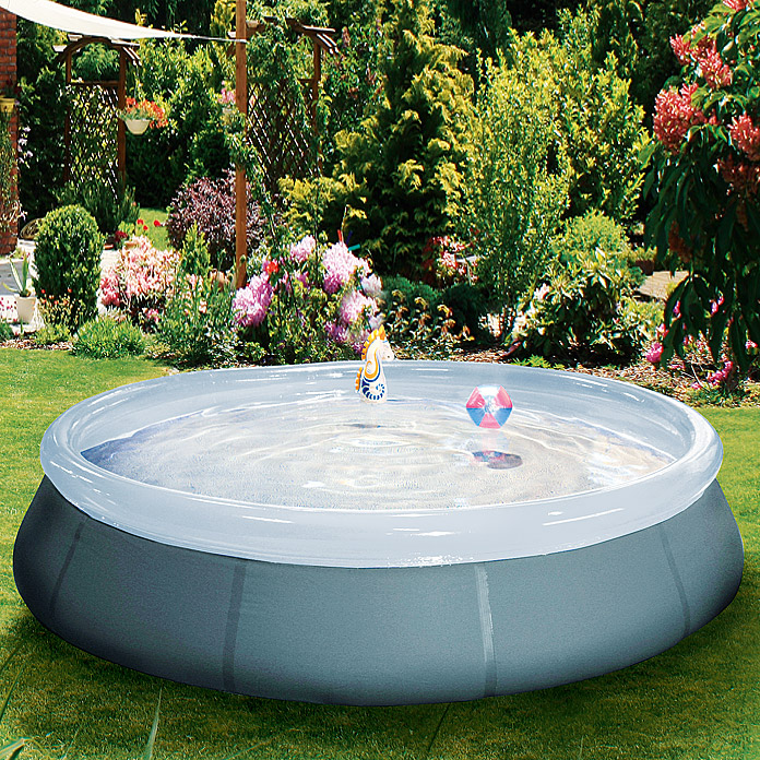 Mypool poolset simple durchmesser 366 cm h he 92 cm for Gartenpool 366