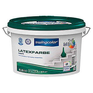 swingcolor Mix Latexfarbe  (2,5 l, Matt)