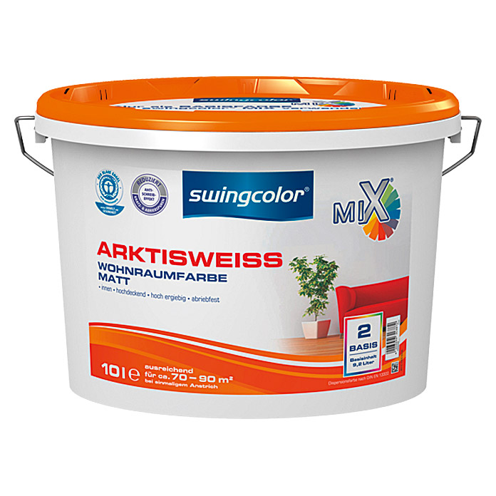 MIX ARKTISWEISS 10 lBASIS 2            SWINGCOLOR