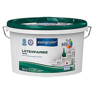 swingcolor Mix Latexfarbe  (5 l, Matt)
