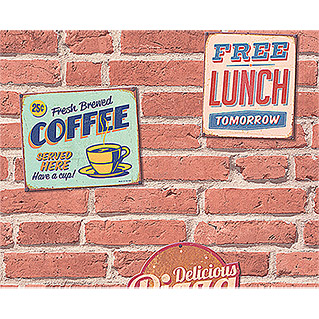 AS Creation 3D-Designpanel pop.up (Coffee, Beige/Braun/Creme, 52 cm x 2,5 m)