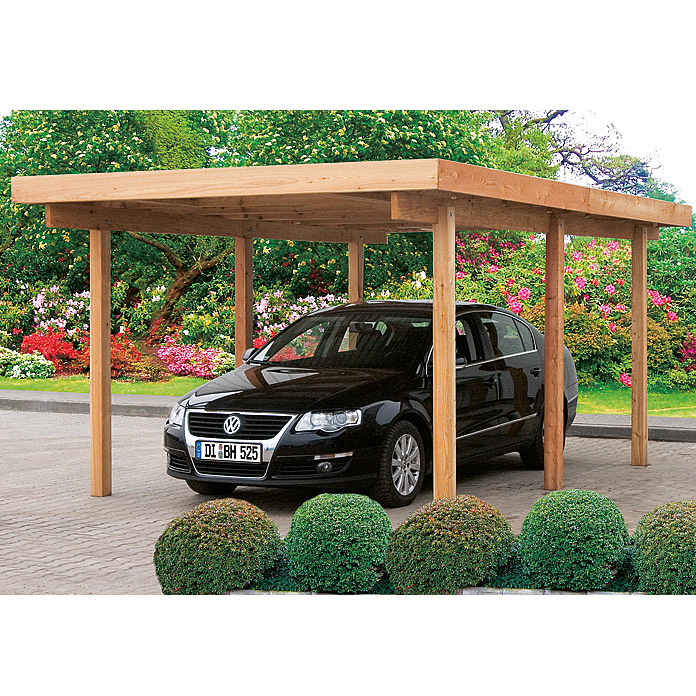 Carport 5 1 x 3 04 m bauhaus for Baumarkt carport