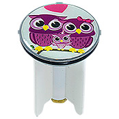OWLS IN LOVE DESIGN EXCENTERSTOPFEN 4cm