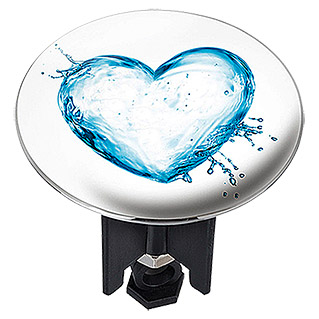ABFLUSS-STOPFEN PLUGGY XL WATER HEART