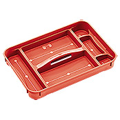 CLEAR BOX TRAY M/XL REGALUX
