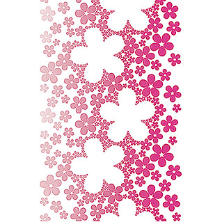 AS Creation Designpanel pop.up (Blumen-Allover, Violett/Weiß, 35 cm x 2,5 m)
