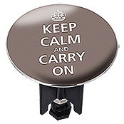 ABFLUSS-STOPFEN PLUGGY XL KEEP CALM