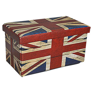 Multifunktionsbox  (UK Flag, 76,5 x 40,5 x 40,5 cm)