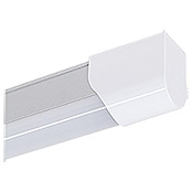 Ritter Leuchten Lámpara fluorescente LED (20 W, Color: Blanco/Aluminio, Largo: 123,3 cm)