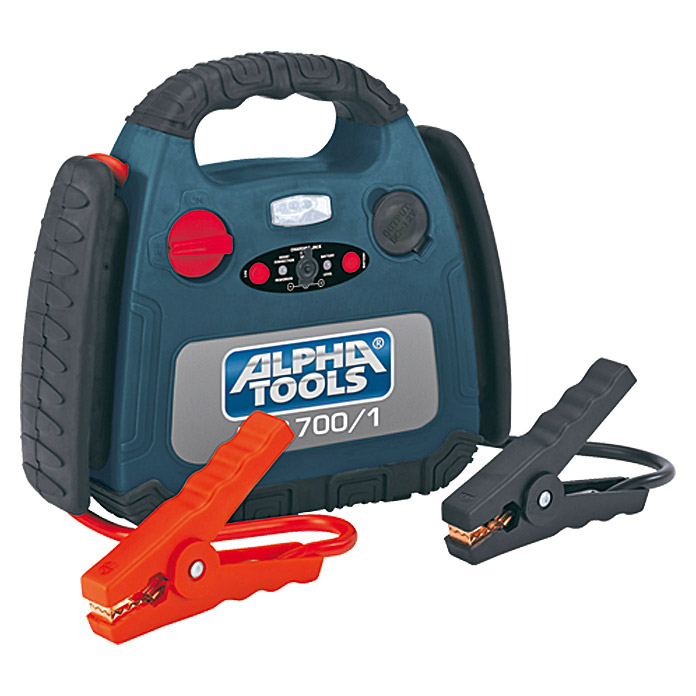 Alpha Tools Energiestation (7 Ah, 12 V)