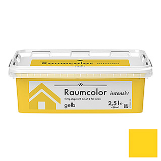 RAUMCOLOR INTENSIV  2,5 l GELB