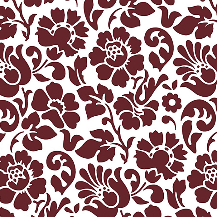 D c fix klebefolie 200 x 45 cm bordeaux barock for Dc fix deko folie