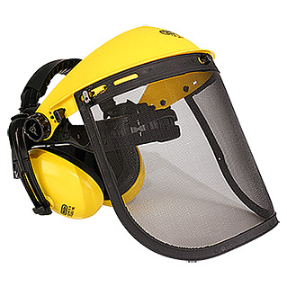Oregon Casco protector con rejilla auditiva (Amarillo)