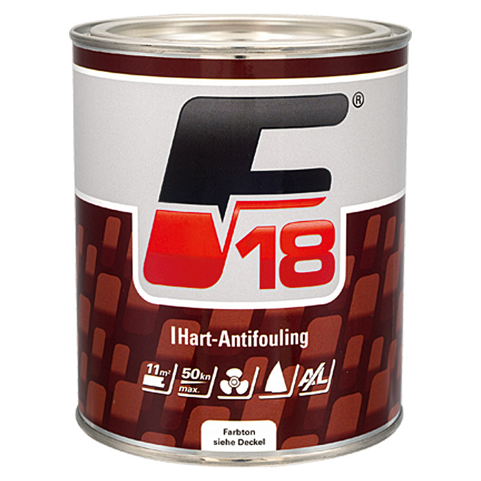 F18 HART-ANTIFOULINGWEISS 750 ml