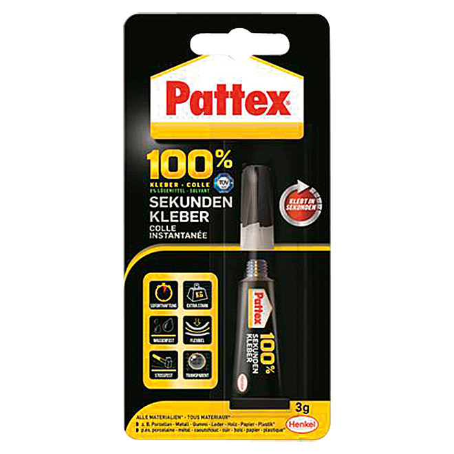pattex 100 kraftkleber multi power kleber 200 g flasche fl ssig bauhaus. Black Bedroom Furniture Sets. Home Design Ideas