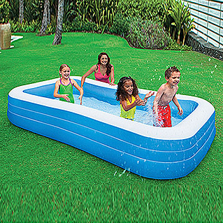 Intex Planschbecken Schwimm-Center Family (305 x 183 x 56 cm, 999 l)