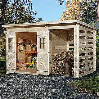 Weka Blockbohlenhaus Milano Plus (19 mm, 6,6 m²)